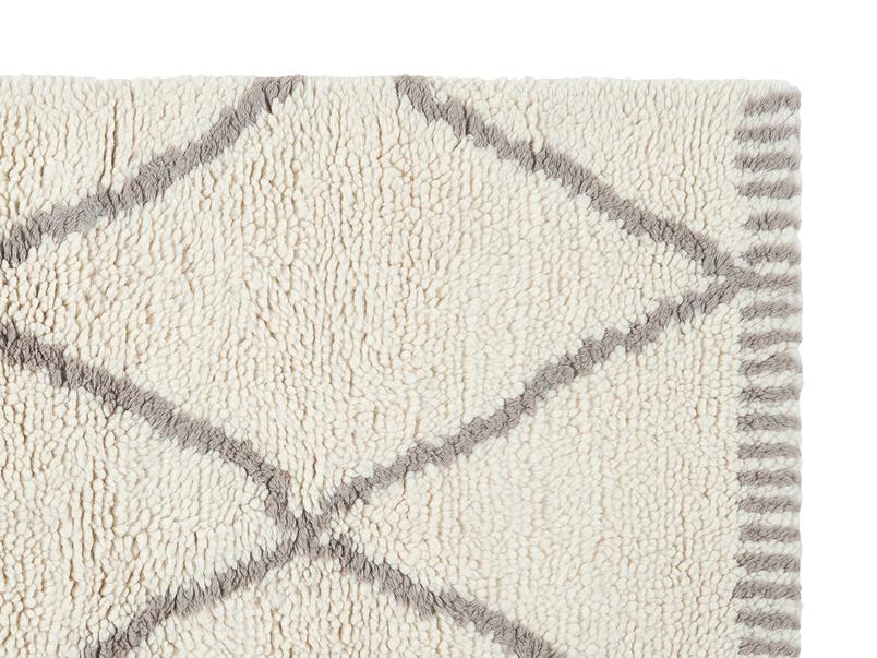 Berber woven modern rug