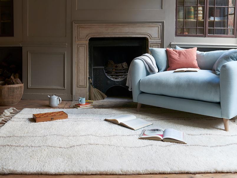 Riad handmade modern woven rug