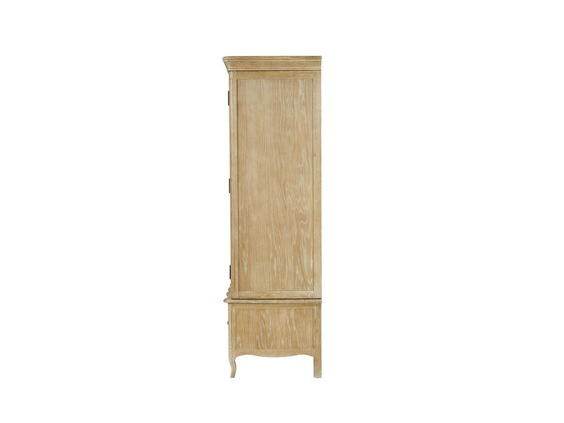 Pascaline oak wardrobe bedroom