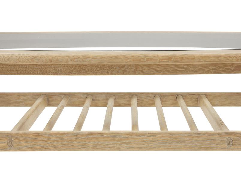 Wood Turner coffee table with storage