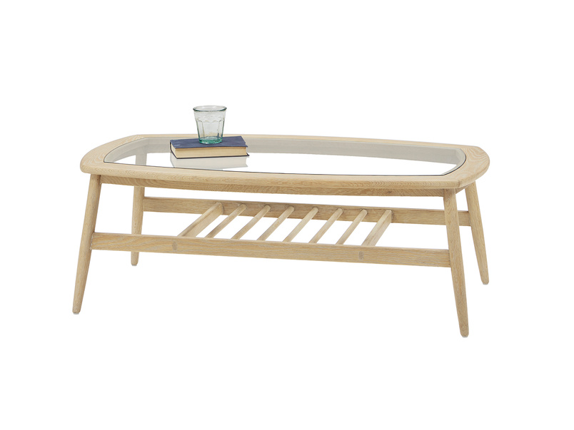 Wood Turner modern wooden coffee table