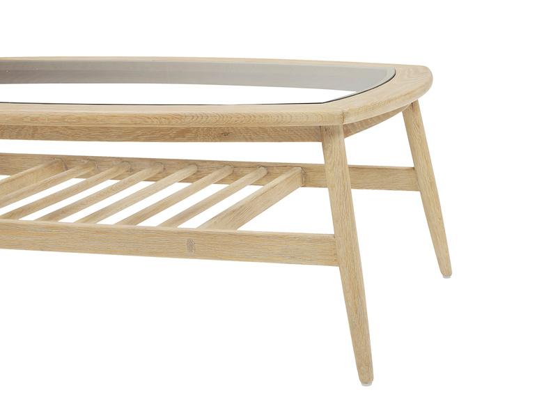 Wood Turner solid wood coffee table