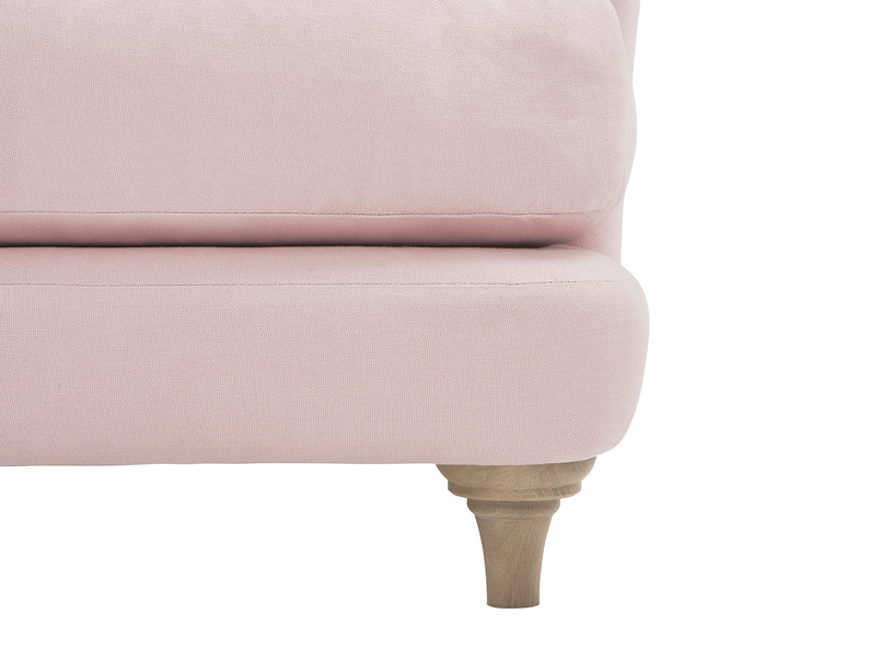 Smithy contemporary love seat