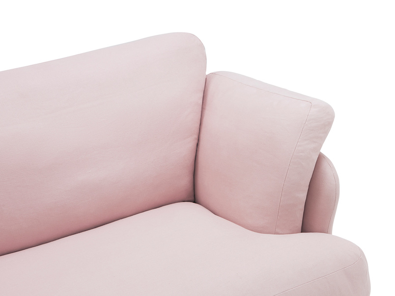 Smithy high arm love seat