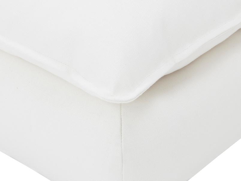 Munch padded footstool