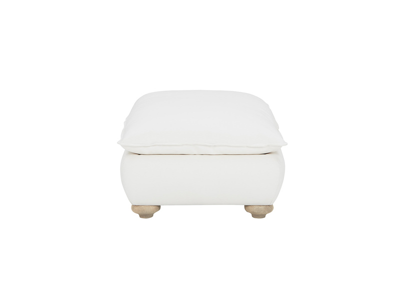 Munch upholstered footstool