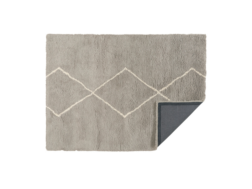 Casbah woven rug in Ash Grey