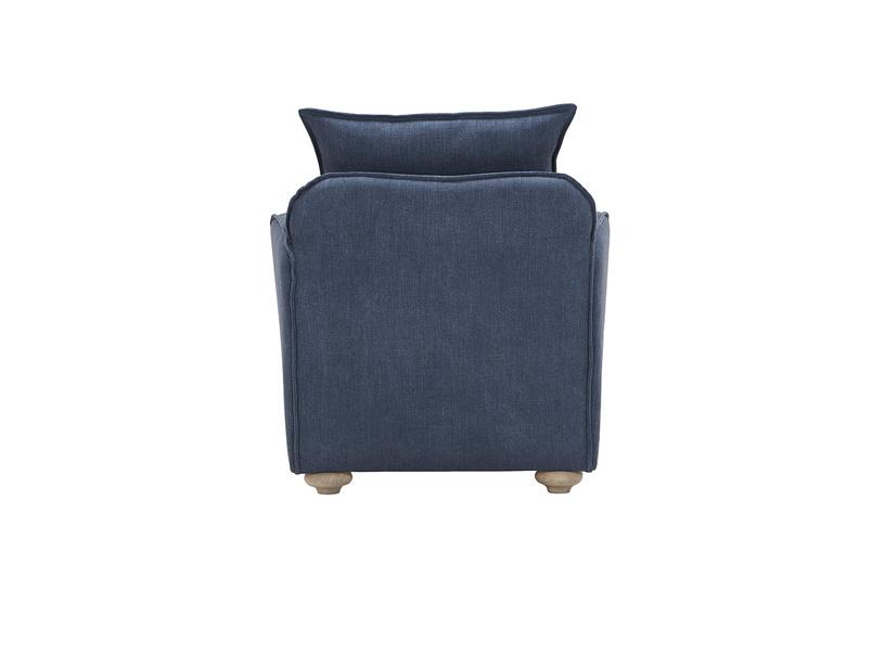 Smooch armchair back detail