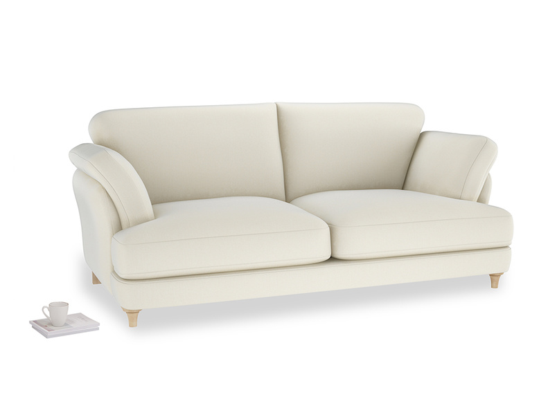 Large Smithy Sofa in Alabaster Bamboo Softie