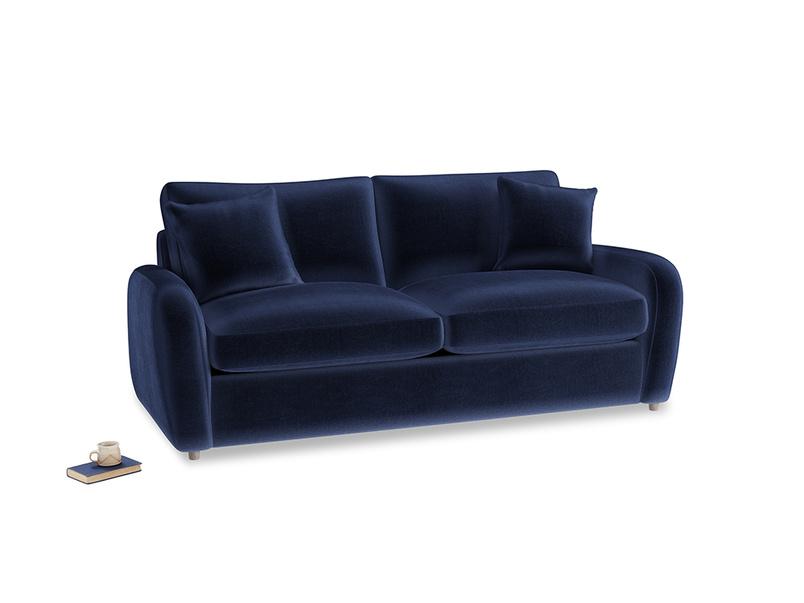 Medium Easy Squeeze Sofa Bed in Midnight Clever Deep Velvet