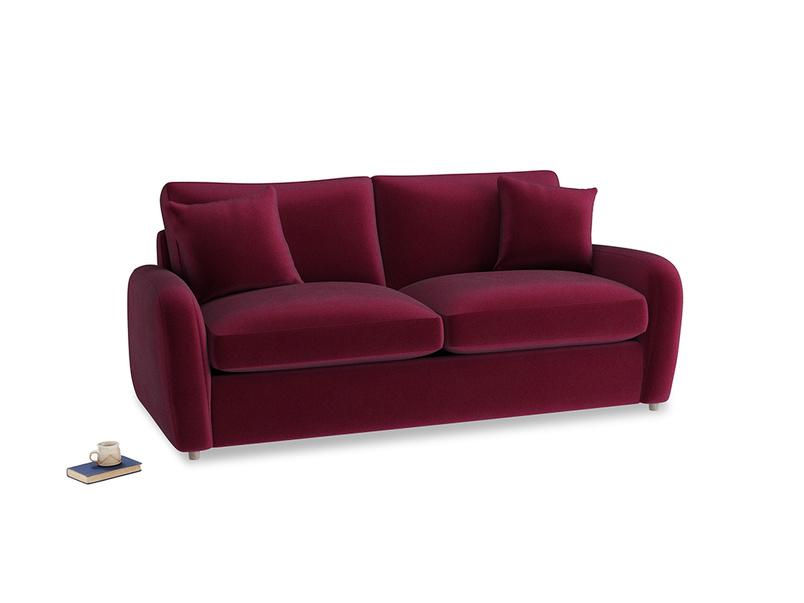 Medium Easy Squeeze Sofa Bed in Merlot Clever Deep Velvet