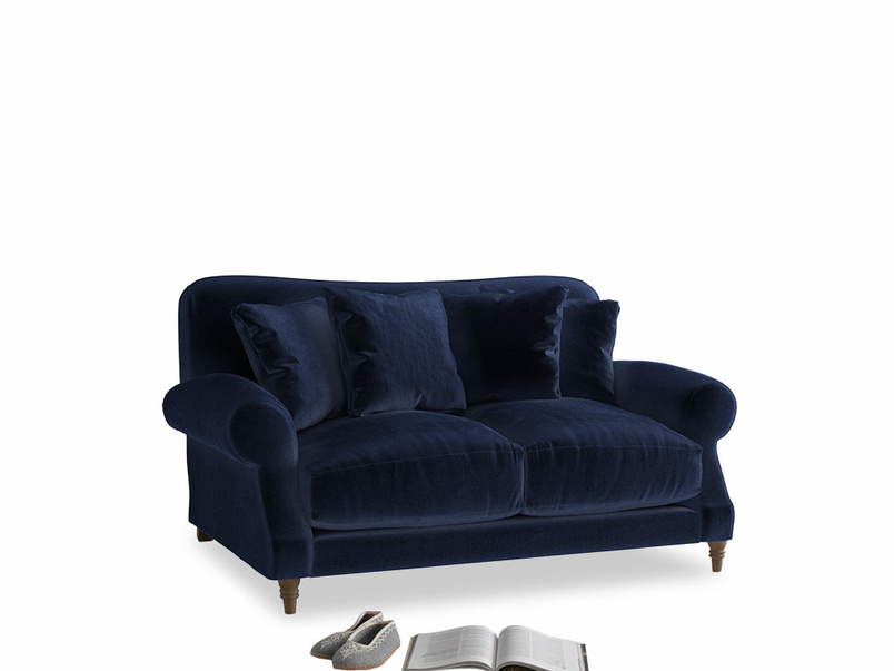 Small Crumpet Sofa in Midnight Clever Deep Velvet