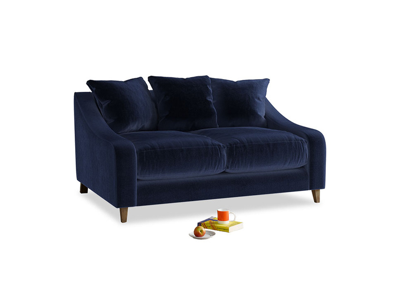 Small Oscar Sofa in Midnight Clever Deep Velvet