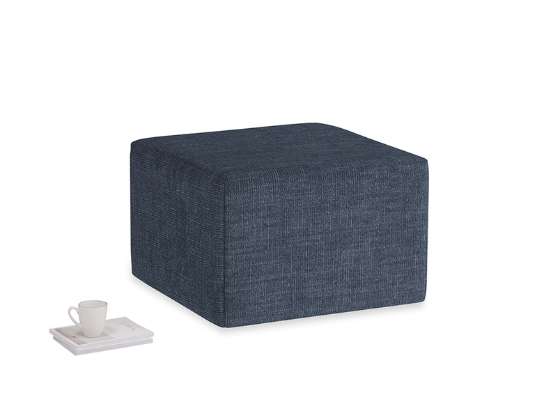 Flip-Flop in Selvedge Blue Clever Laundered Linen