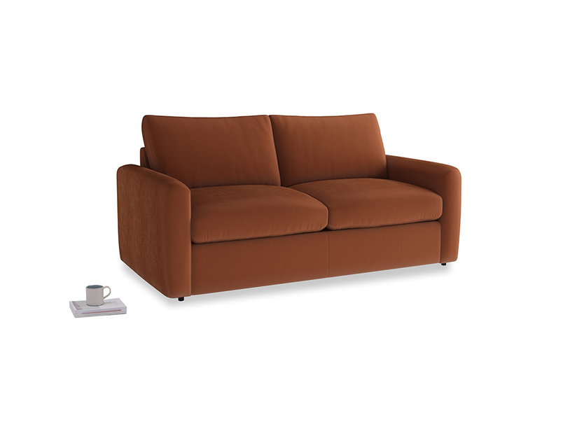 Chatnap Storage Sofa in Praline Clever Deep Velvet with both arms