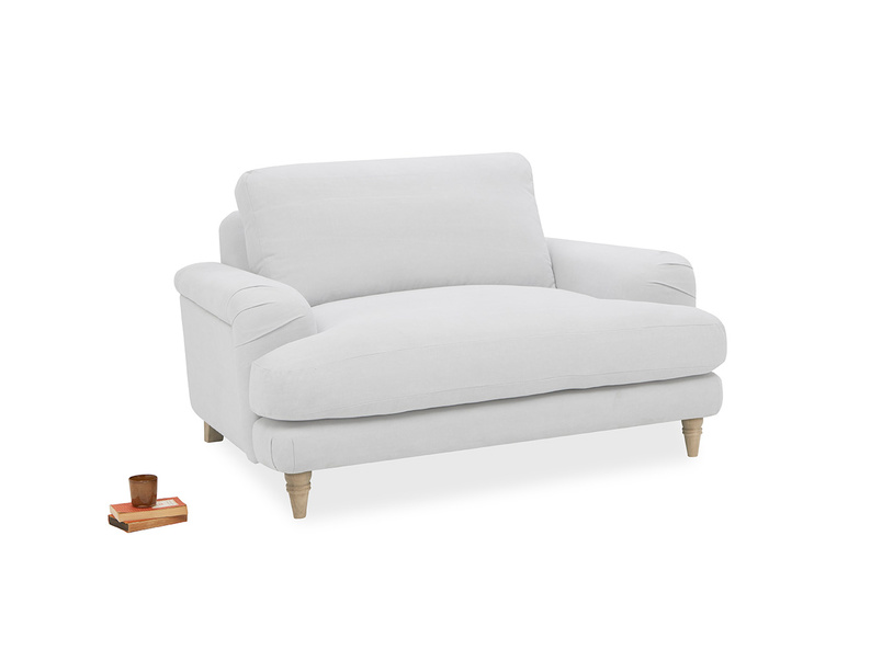 392957 cinema contemporary upholstered love seat
