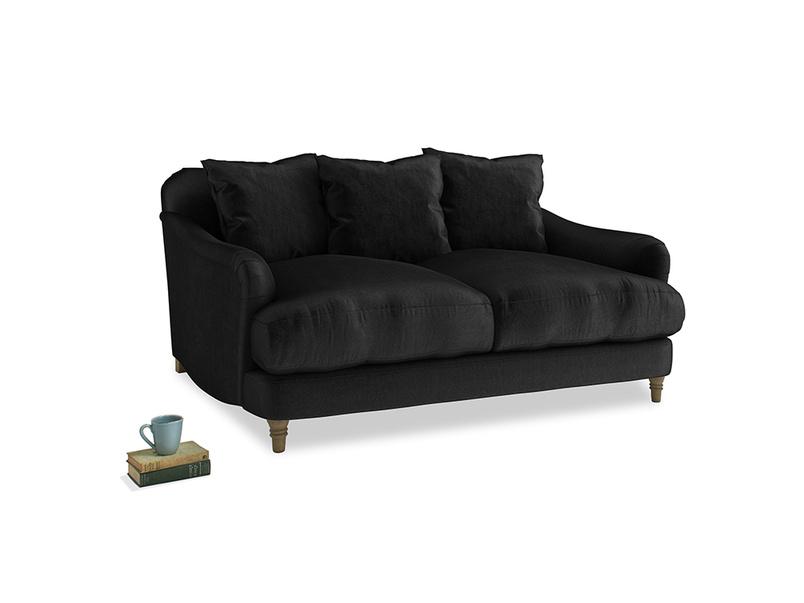 Small Achilles Sofa in Blackboard Vintage Velvet