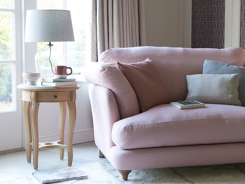 Smithy upholstered comfy loveseat