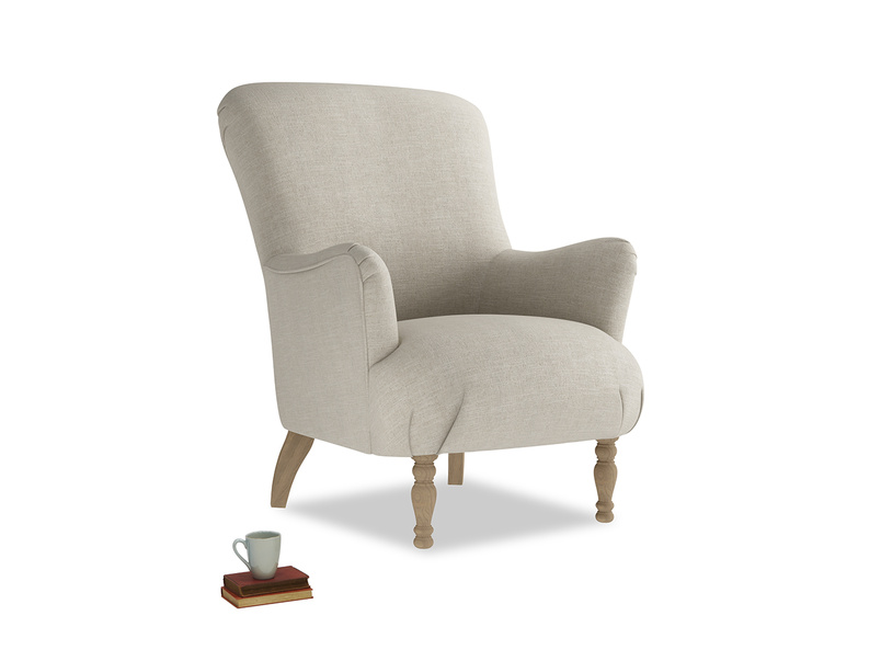 Gramps high-back armchair