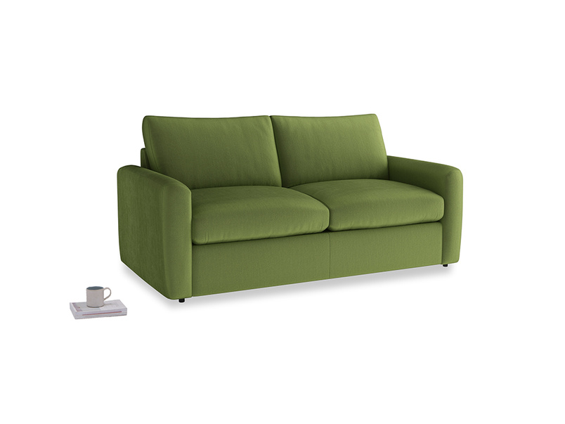 Chatnap Storage Sofa in Olive Vintage Velvet with both arms