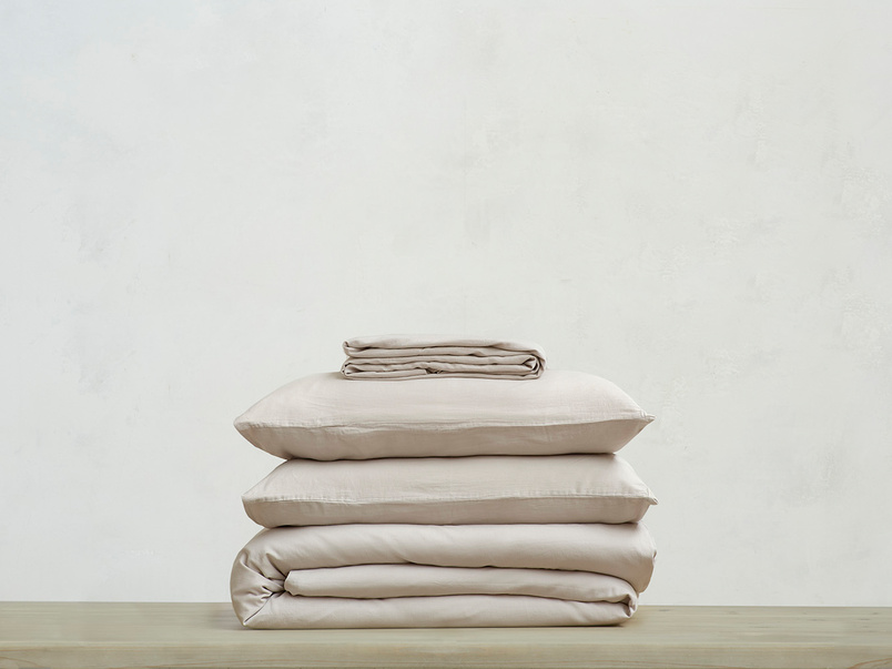 Lazy Cotton super soft pure cotton Bed sheets bundle in Stone Grey