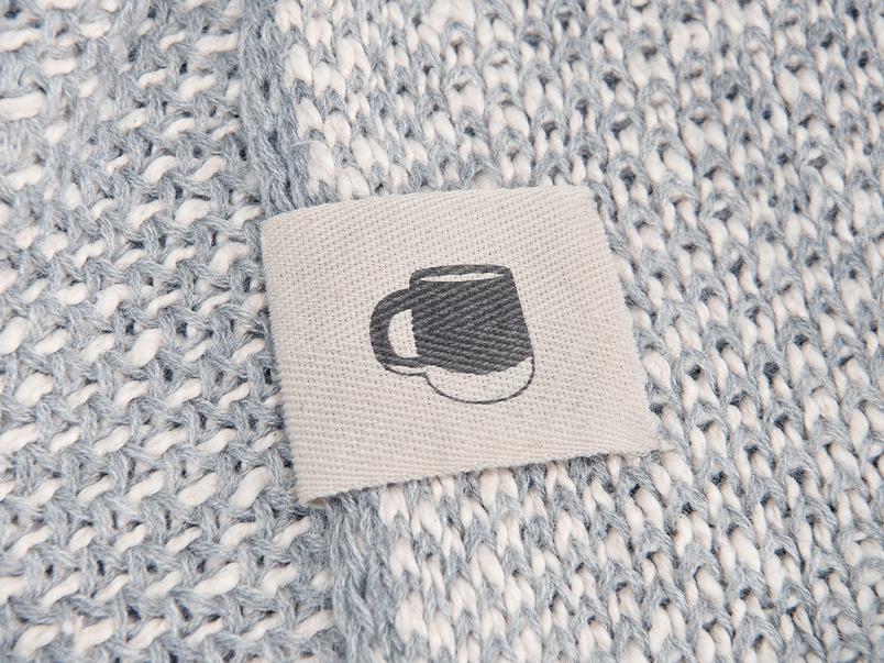 Floppy Knit chunky knit blanket