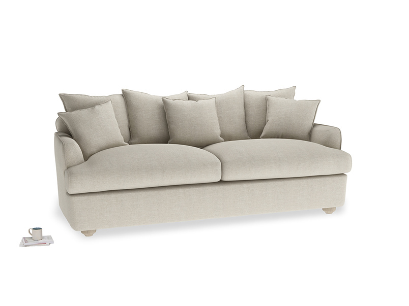 Large Smooch Sofa Bed in Thatch house fabric