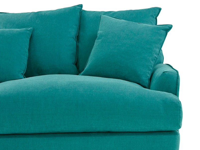 Smooch modern sofa bed front detail