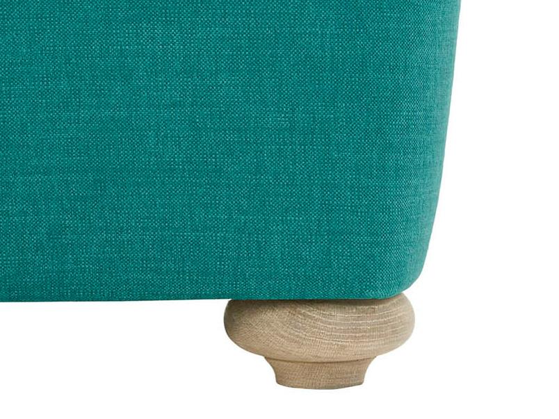 Smooch sofa bed leg detail