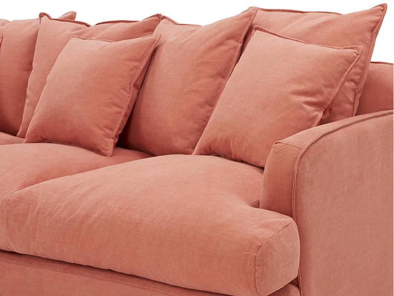 Smooch contemporary chaise sofa
