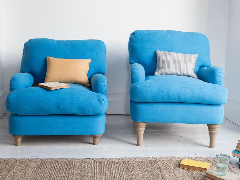 Comfy British made Jonesy luxury deep armchair