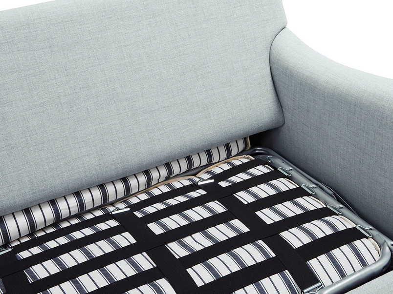 Jonesy comfy sofa bed inside detail