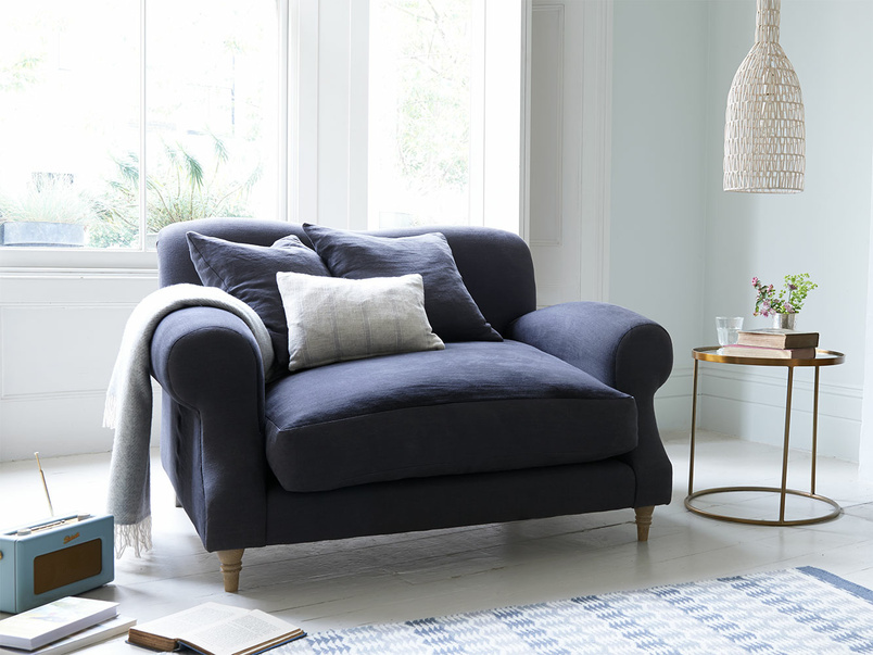 Traditional hand made comfy Crumpet armchair