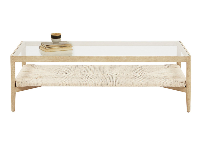 Keepsake wood coffee table