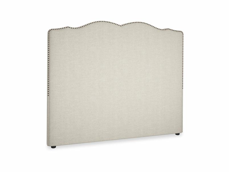 French studded upholstered handmade Marie headboard