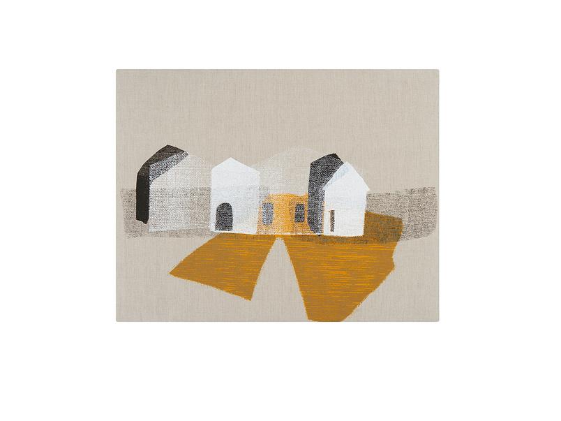 Canvas print wall art Ghost Town