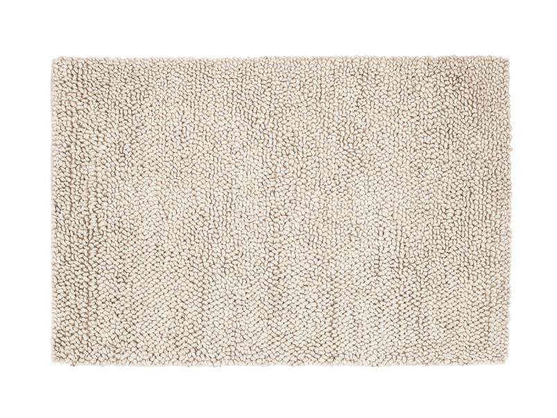 Stylish hand made British knitted floor rug