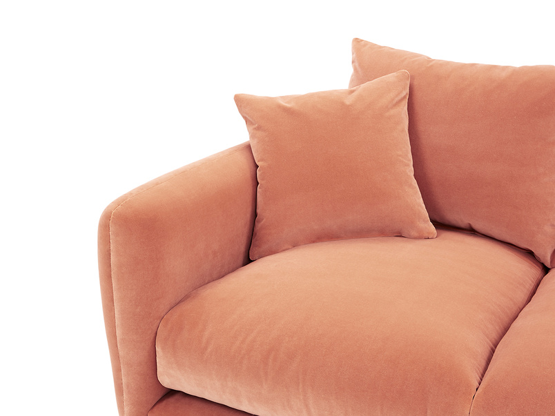 Squishmeister Chaise Sofa cushion detail