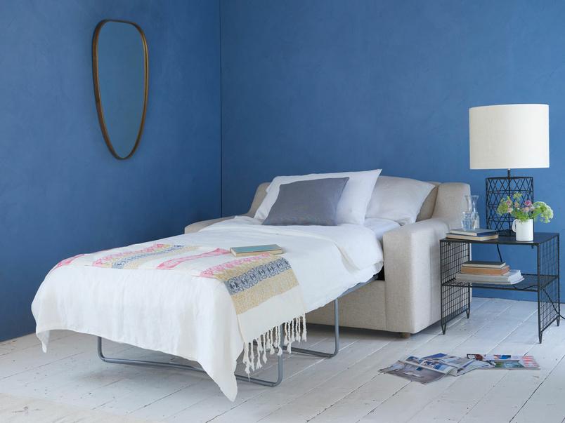 Cloud single modern luxury contemporary armchair sofa bed