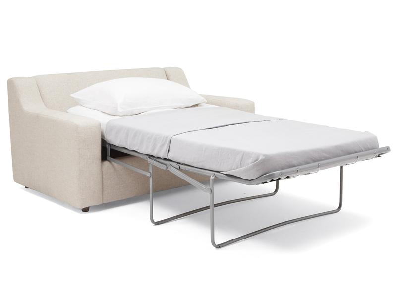 Single Cloud love seat armchair modern sofa bed