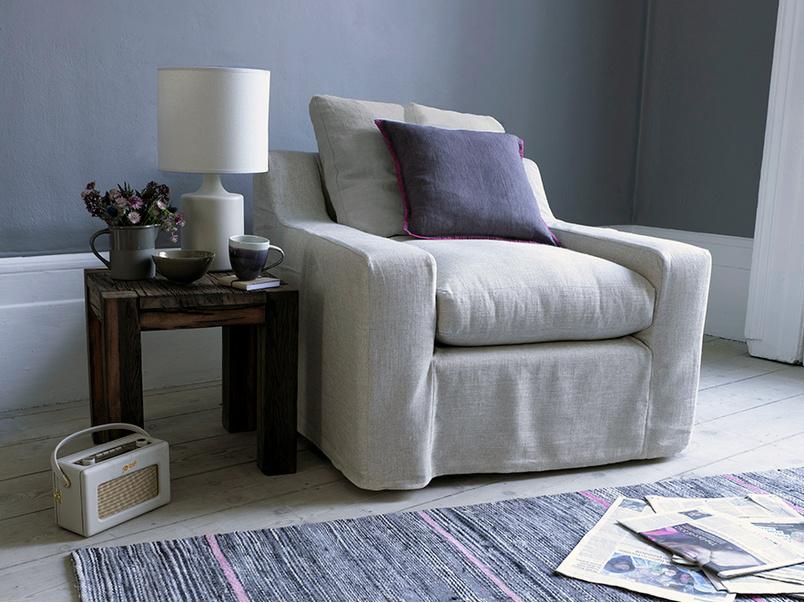 Gorgeous British made comfy Cloud luxury deep armchair