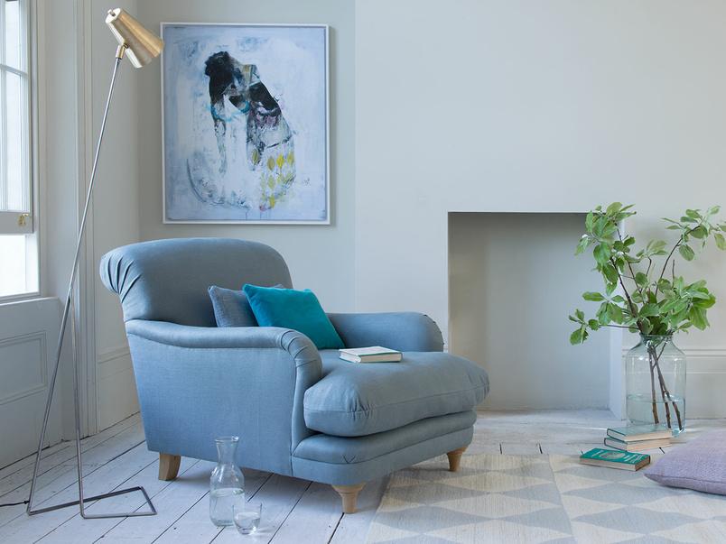 Very comfy luxury handmade Pudding armchair