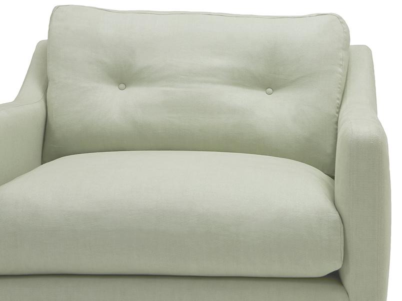 Slim Jim comfy love seat