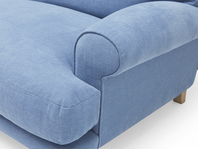 Slowcoach thin base sofa