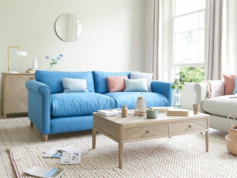 Weekender high arm sofa