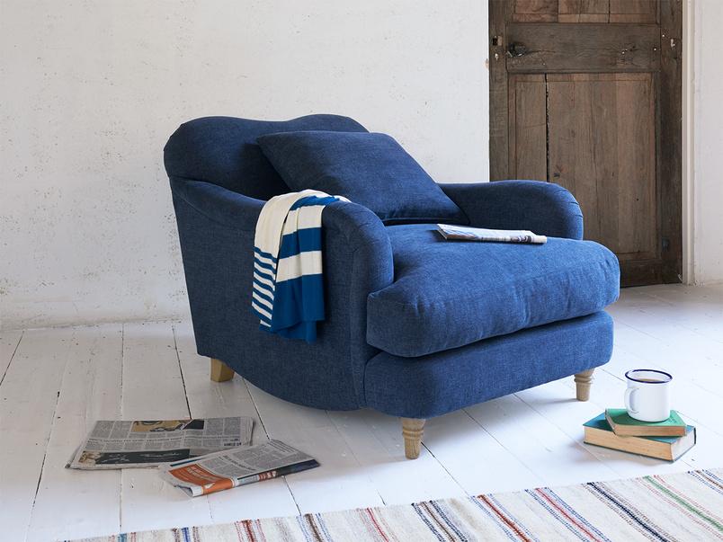 Luxury deep beautiful handmade comfy Achilles armchair