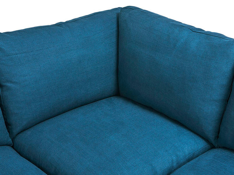 Slowcoach corner sofa back detail