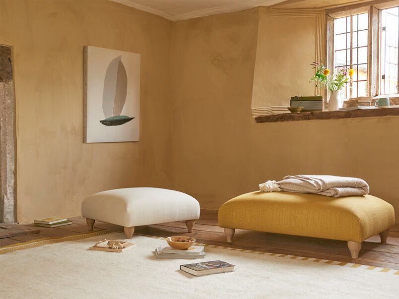Sugarplum cosy footstool