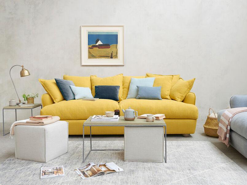 Smooch low arm scatter back sofa