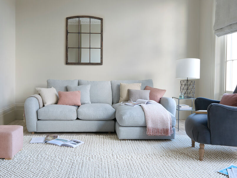 Easy Squeeze squishy chaise sofa